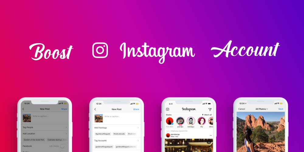 How to boost Instagram account