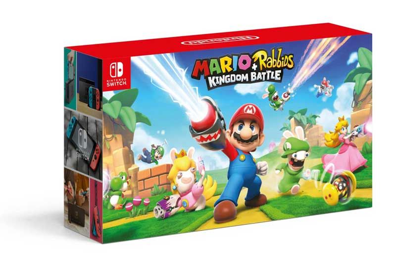 Mario and The Rabbids Kingdom Battle Nintendo Switch