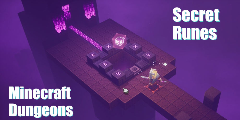 Minecraft Dungeons - Secret Level and Runes