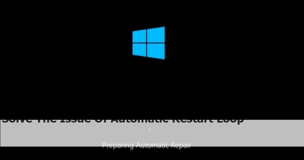 Solve The Issue Of Automatic Restart Loop 4tHT